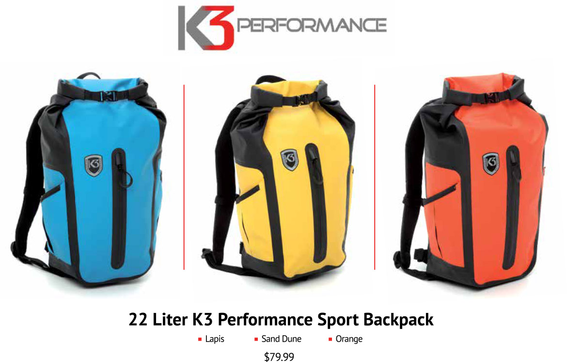 K3 Performance Sport Waterproof Backpack - Best - Waterproof - Dry ...